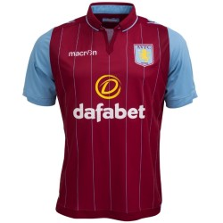 Aston Villa Home Football Jersey 2014/15 - Macron
