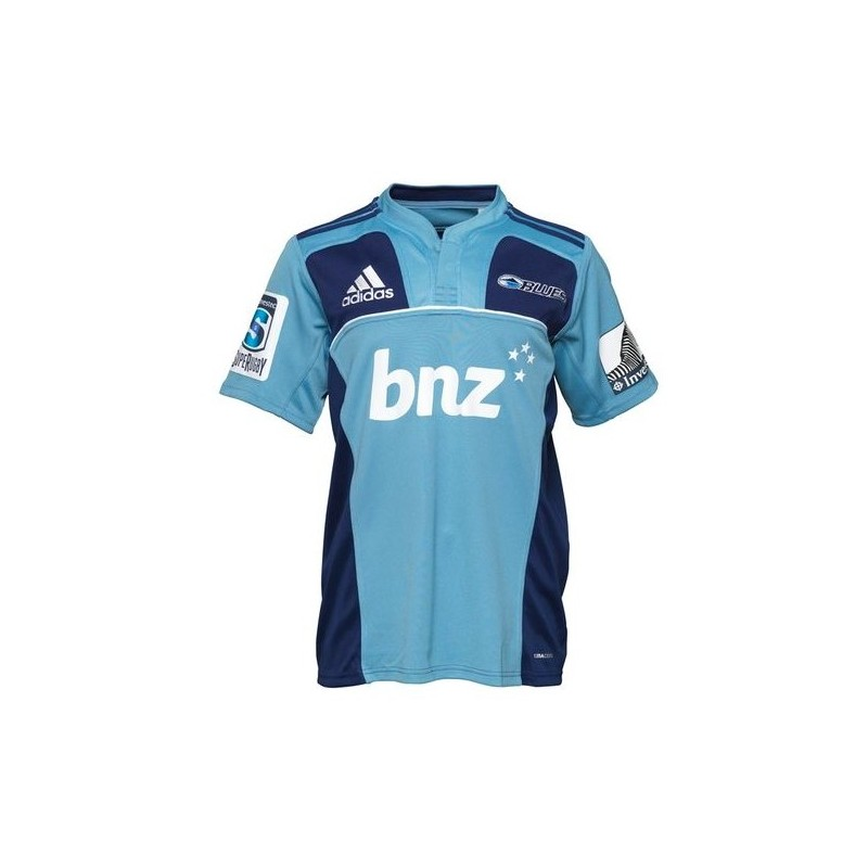 Adidas Rugby Home: Auckland Blues Rugby Jersey 2011/12 Home By Adidas