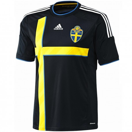 Sweden National team Away football shirt 2014/15 - Adidas