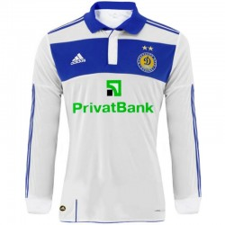 Dynamo Kiev longsleeve Home shirt 2010/11 Player Issue - Adidas