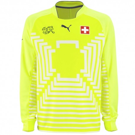 2014/15 Switzerland Home goalkeeper shirt - Puma