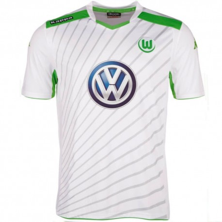 VFL Wolfsburg Away Football shirt 2014/15 - Kappa