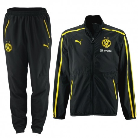 BVB Borussia Dortmund dark grey presentation suit 2014/15 - Puma