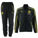 BVB Borussia Dortmund black presentation suit 2014/15 - Puma