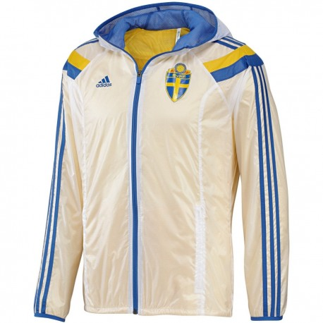 Sweden national team presentation Anthem jacket 2014/15 - Adidas