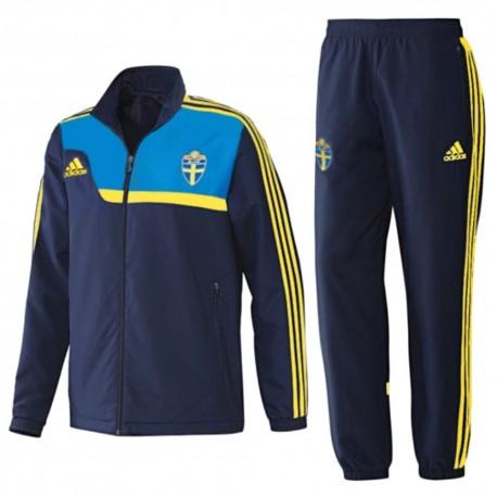 Sweden national team presentation tracksuit 2014 - Adidas