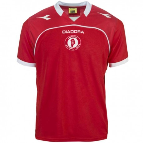 Greenland Home football shirt 2014/16 - Diadora