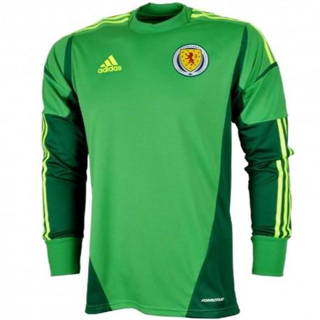 Scotland National team Away goalkeeper shirt 2012/14 - Adidas