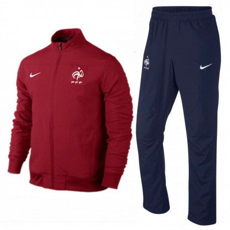 France football team red Presentation tracksuit 2014/15 - Nike