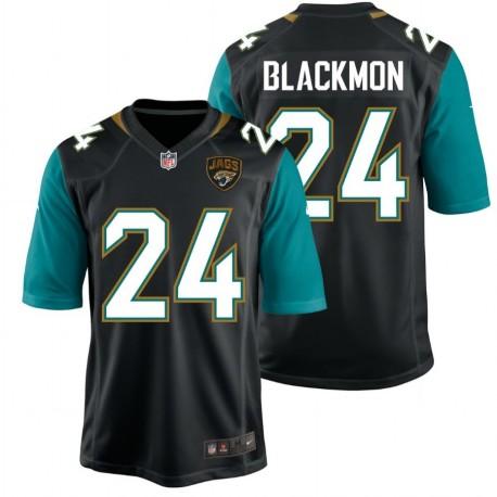 Jacksonville Jaguars Shirt  Home - 24 Blackmon Nike
