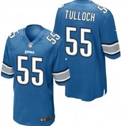Detroit Lyons Shirt Home - 55 Tulloch Nike