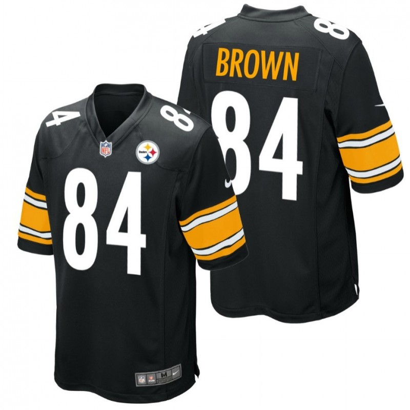 pittsburgh steelers trikot 84 brown nike sportingplus. Black Bedroom Furniture Sets. Home Design Ideas