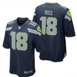 Seattle Seahawks Shirt Home - 18 Rice Nike