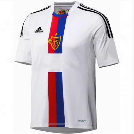 FC Basel Away football shirt 2013/14 Player Issue s/s - Adidas