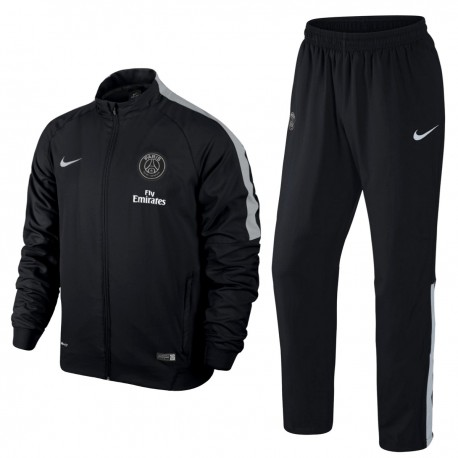 PSG Paris Saint Germain chándal de presentacion 2015 - Nike - negro - SportingPlus - Passion for ...