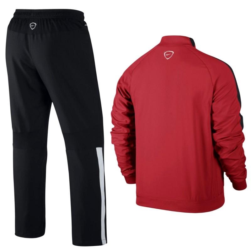 surv tement de pr sentation paris saint germain psg 2015 nike rouge sportingplus passion. Black Bedroom Furniture Sets. Home Design Ideas