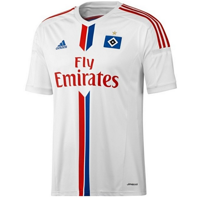 hsv hamburger sv home fu ball trikot 2014 15 adidas. Black Bedroom Furniture Sets. Home Design Ideas