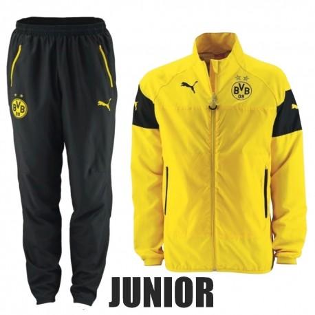 KIDS - BVB Borussia Dortmund presentation tracksuit 2014/15 - Puma