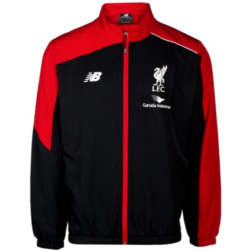 Liverpool Fc Black Presentation Tracksuit 2015 16 New