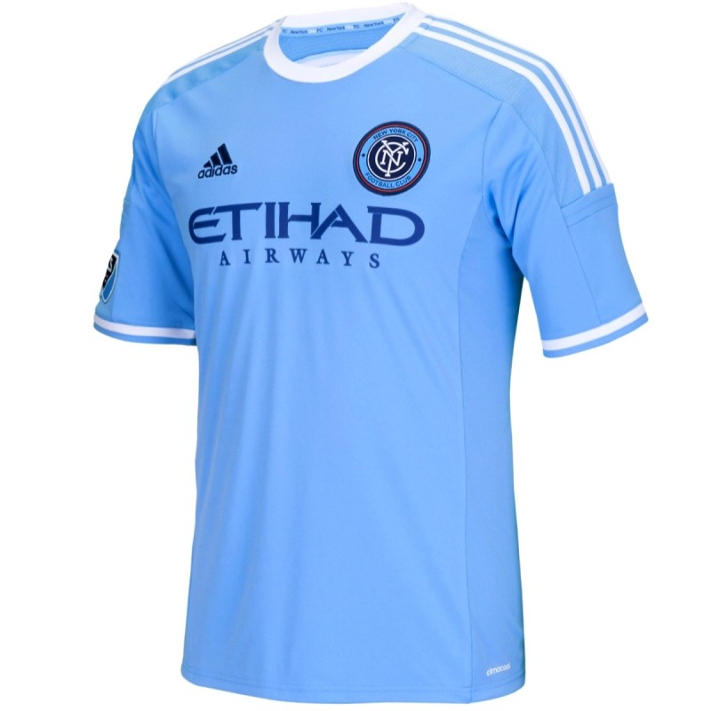 new york city fc home football shirt 2015 16 adidas