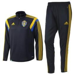Sweden national team training tracksuit 2015 - Adidas