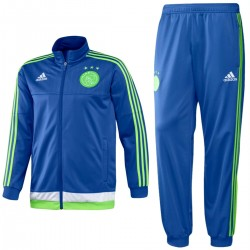 Ajax Amsterdam Away blue training tracksuit 2015/16 - Adidas