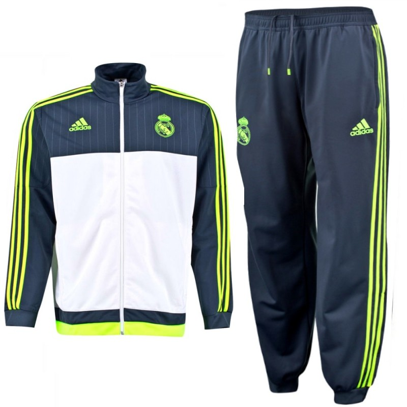 real madrid jogging trainingsanzug 2015 16 adidas. Black Bedroom Furniture Sets. Home Design Ideas