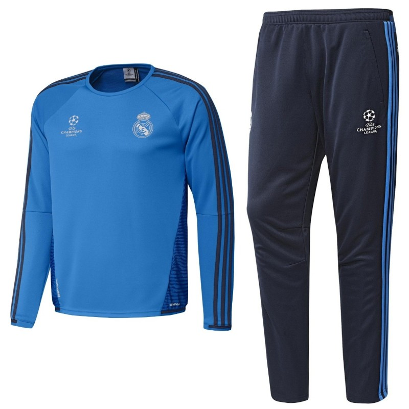 real madrid ucl trainingsanzug 2015 16 adidas. Black Bedroom Furniture Sets. Home Design Ideas