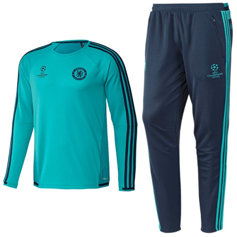 Chelsea Ucl Presentation Soccer Tracksuit 201516 Adidas