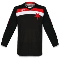 Slavia Prague Away shirt 08/10 by Umbro-long sleeves