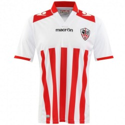 AC Ajaccio (France) Home football shirt 2014/15 - Macron