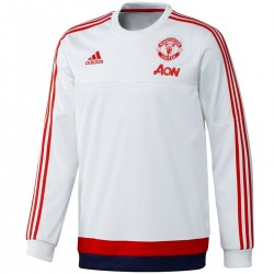 Manchester United white training sweatshirt 2016 - Adidas