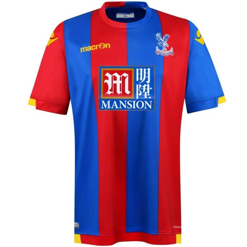 Crystal Palace Fc Home Football Shirt Lima Enam Macron