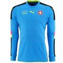 Switzerland goalkeeper football shirt 2016/17 light blue - Puma
