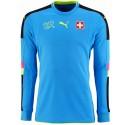 Switzerland goalkeeper football shirt 2016/17 light blue - Puma