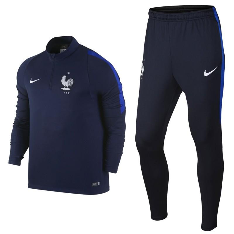 France Football Team Tech Training Tracksuit 2016 17