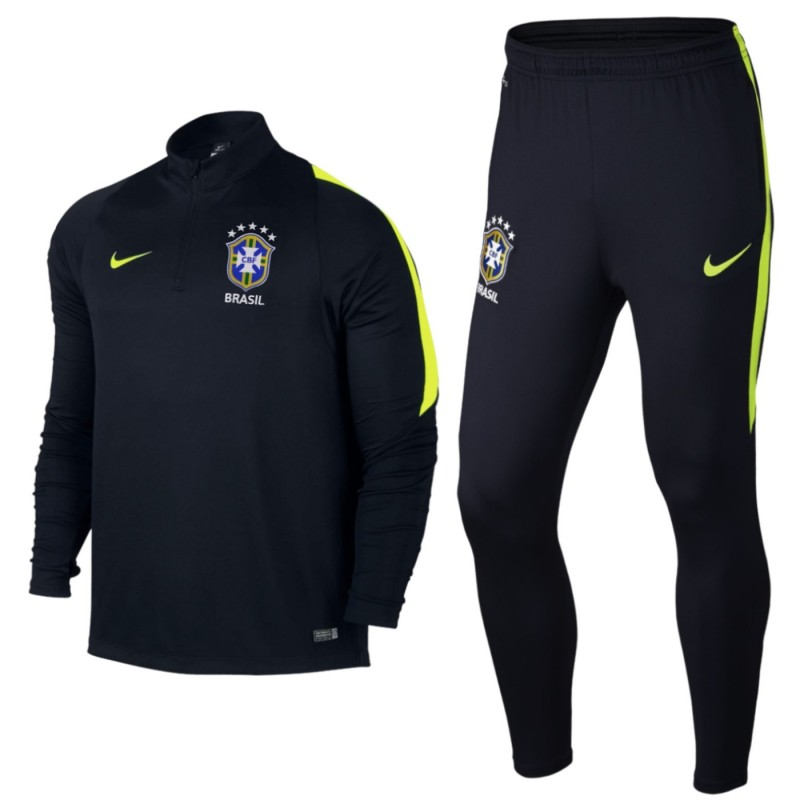 Brazil Football Team Tech Training Tracksuit 2016 17