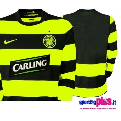 Celtic Glasgow shirt Away 2009/2010 version Player Issue for race-Nike