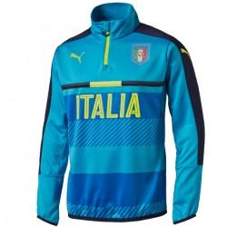 Italy technical training sweat top 2016/17 light blue - Puma