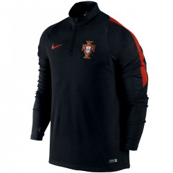 Portugal football team tech training sweat top 2016/17 black - Nike