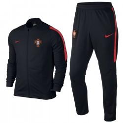 Portugal football team presentation tracksuit 2016/17 black - Nike
