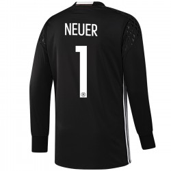 Germany Neuer 1 goalkeeper shirt Home 2016/17 - Adidas