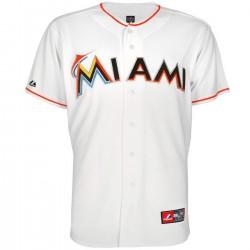 Miami Marlins MLB Baseball Home jersey - Majestic