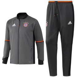 Bayern Munich grey training tracksuit 2016/17 - Adidas
