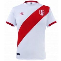 Peru national team Home football shirt 2016 - Umbro