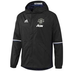 Manchester United training rain jacket 2016/17 black - Adidas