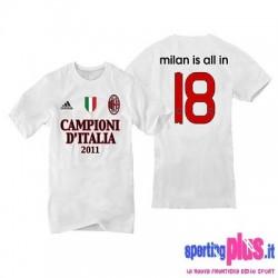Commemorative t-shirt Jersey Ac Milan 18°/10 Championship 11-Adidas