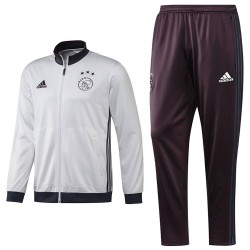 Ajax Amsterdam training tracksuit 2016/17 white - Adidas