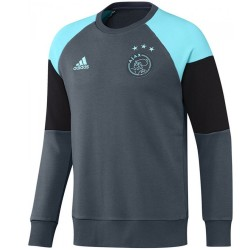 Ajax Amsterdam grey training sweat top 2016/17 - Adidas