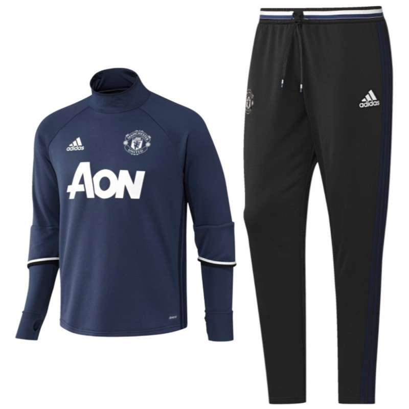 manchester united tech trainingsanzug 2016 17 adidas. Black Bedroom Furniture Sets. Home Design Ideas
